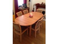 Table and 6 chairs need gone ASAP