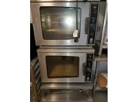 Falcon Electric Convection Oven E711 x 2 With STACKING KIT & STAND