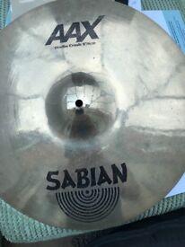 Sabian aax 18in studio crash