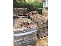 Redland concrete reclaimed roof tiles