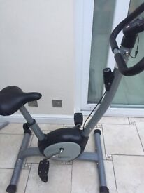 In good working condition, has seat height and pedal tension adjustment with digital time display