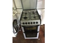 nice black and silver cannon gas cooker in excellent condition in full working order