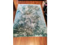 Next rug curtains and cushions teal living room blue green