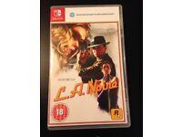 LA Noire Nintendo Switch Game
