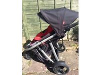 Double Phil and Teds Pushchair, good condition