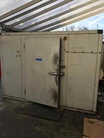 10ft x 10ft cold room cold Store walk in fridge chiller