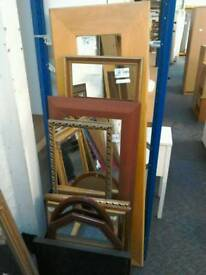 Assortment of mirrors starting from £10