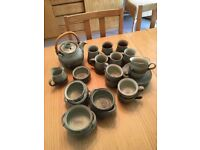 pottery crockery set