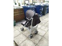 Good condition Chicco pushchair with removable washable cover