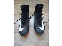 nike mercurial size 6uk sock football boots