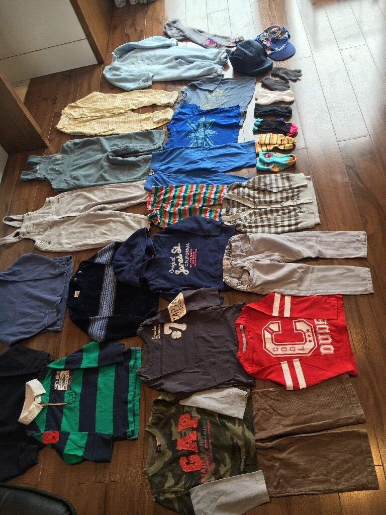 Bundle boys clothes 18-24