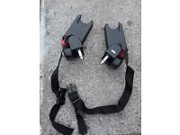Baby Jogger Multi Car Seat Adapter (City Mini series, GT Elite Summit) for sale. In good condition.