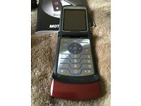 Motorola Razr V3 with manual and power cable only