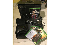 X BOX ONE WITH BRAND NEW KINECT