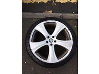"Wheels 22"" with new tyres BMW X5 E53, X6, X3, E46"