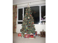 6 ft Christmas tree - artificial.