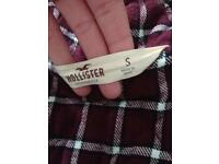 Ladies/girls hollister coat, small