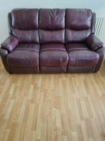 Parker 3 seater sofa + 1 seater recliner chair