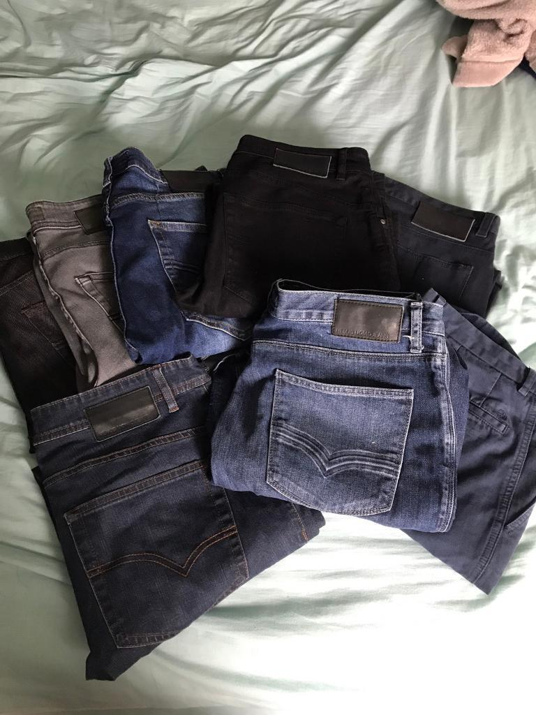 7 pairs of jeans some never worn