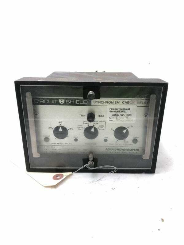 Circuit Shield Type 25V 424K105 Synchronism Check Relay; 10sec, 120V Measure