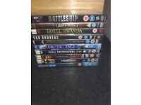 Set of dvds (1) open to offers