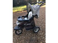 Urban Detour 3 Wheel Buggy and Car Seat - REDUCED PRICE- Barely Used