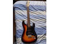 Hudson Strat-style Guitar (£40)