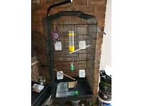 Cage with stand and accesories