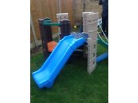 Little tikes slide and climbing