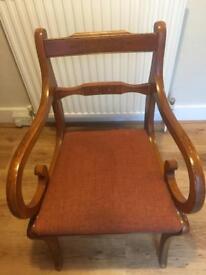 Walnut Dining room chairs