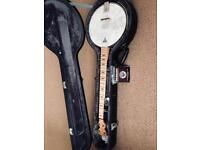 Banjo Deering Goodtime upgraded with extras