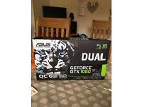 Asus GeForce Dual GTX1060 6GB Brand New Graphics Card