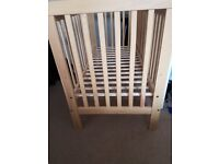 Cot for sale barely used