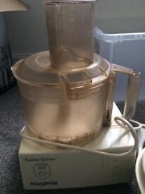 Magimix food processor for spares