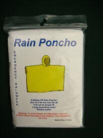 RAIN PONCHO'S