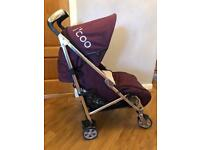 I'Coo Pluto Buggy plus seat pad and cosy toes
