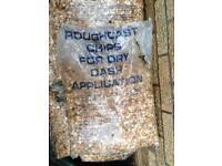 Rough casting stones x32 bags £80