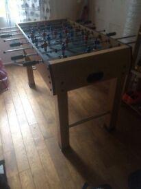 Gemini Football table. Hardly used.