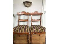 Two Vintage Chairs (Pick up only - E8)