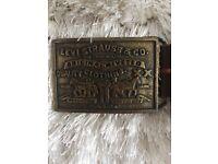 Levi Strauss vintage leather belt