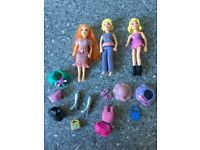 Polly Pocket Dolls + Accessories