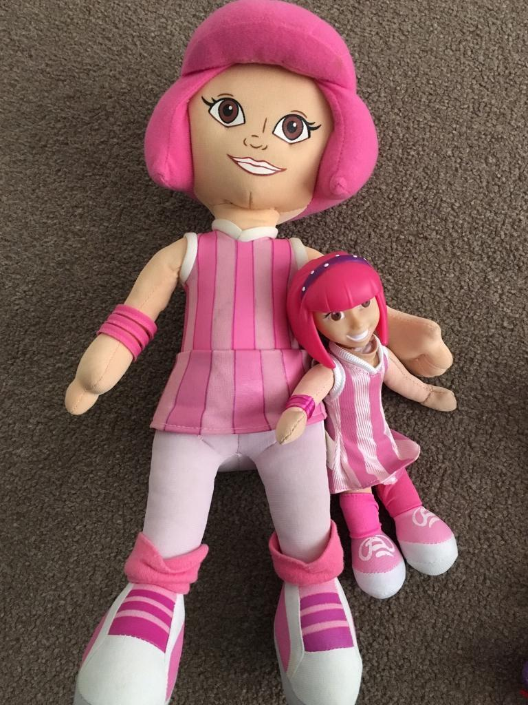 Lazytown figures BARGAIN