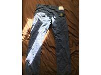 Men's stone island jeans 32w 34l