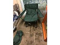2 x Fold down fishing chairs