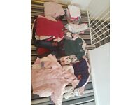 Baby girl age 6-9 months clothes bundle £35