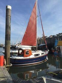 Motorsailer IP24 very good condition safe seaworthy fishing or sailing boat