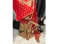 Indian bridal wedding lengha