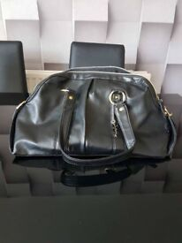 Womens FCUK Black Large Handbag Good Condition
