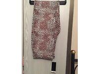 Unworn Size 18 leopard print leggings *label still on*