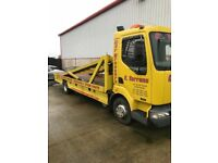Renault tilt and slide 3 car recovery truck